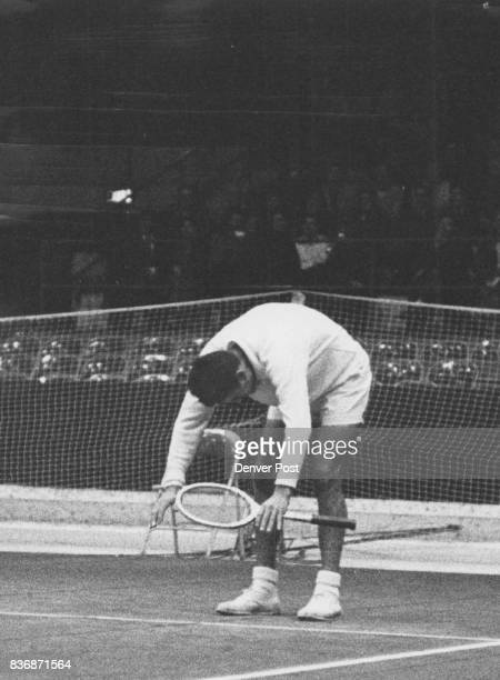 FEB 24 1960 FEB 25 1960 ***** Over Little Pancho in Pro Tennis Match This time Gonzales bows to a perfect shot by Segura who gained an early...