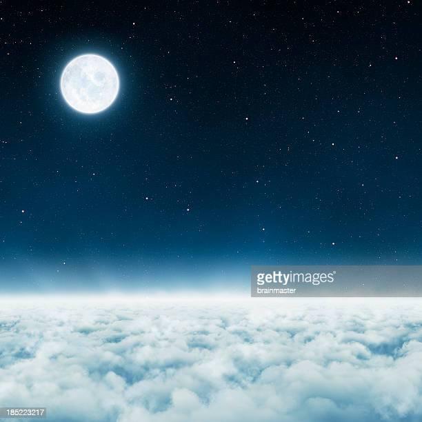 - dessus des nuages