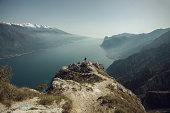 Over the Garda lake