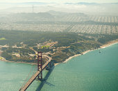 Over the Golden Gate Bridge