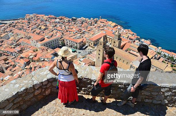 Over the roofs of Cefalù - Sicily