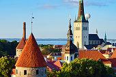Over the roofs of Tallinn