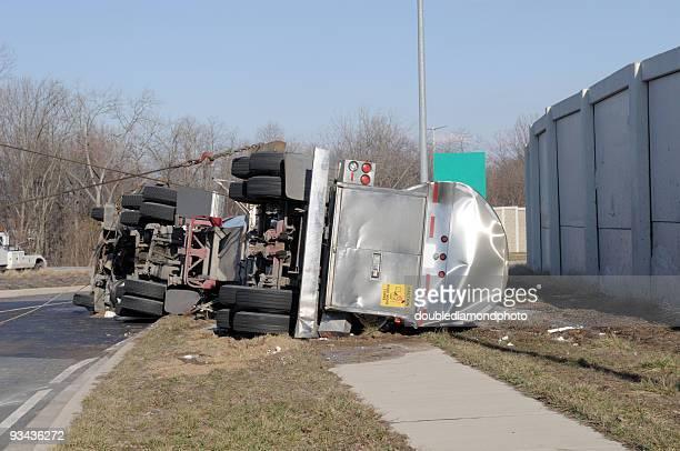 Camión cisterna de torneado