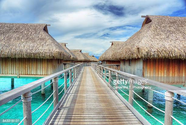 Over Water Bungalows in Moorea