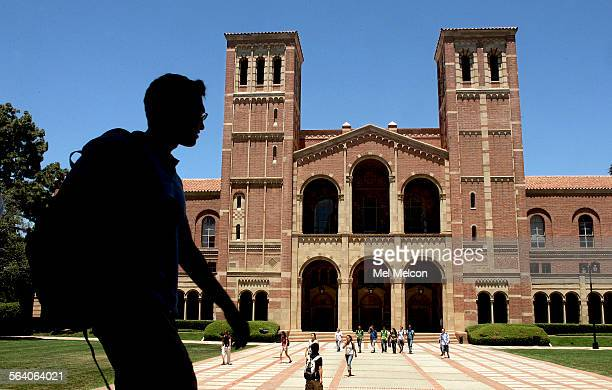 Overall of Royce Hall on the UCLA campus in Westood Royce Hall named after philosopher Josiah Royce was completed in 1928 and opened in 1929...