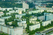 Overcrowded living in the city - berlin/germany