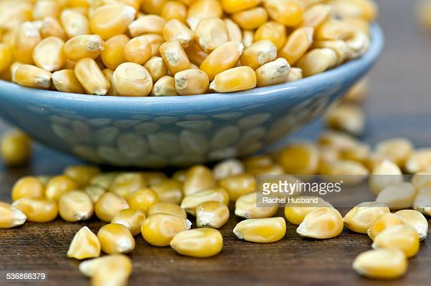 Overflowing popping corn