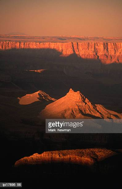 Overhead of canyon from South Rim, Grand Canyon National Park, United States of America
