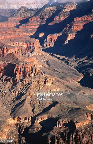 Overhead of South Rim of Canyon, Grand Canyon National Park, United States of America