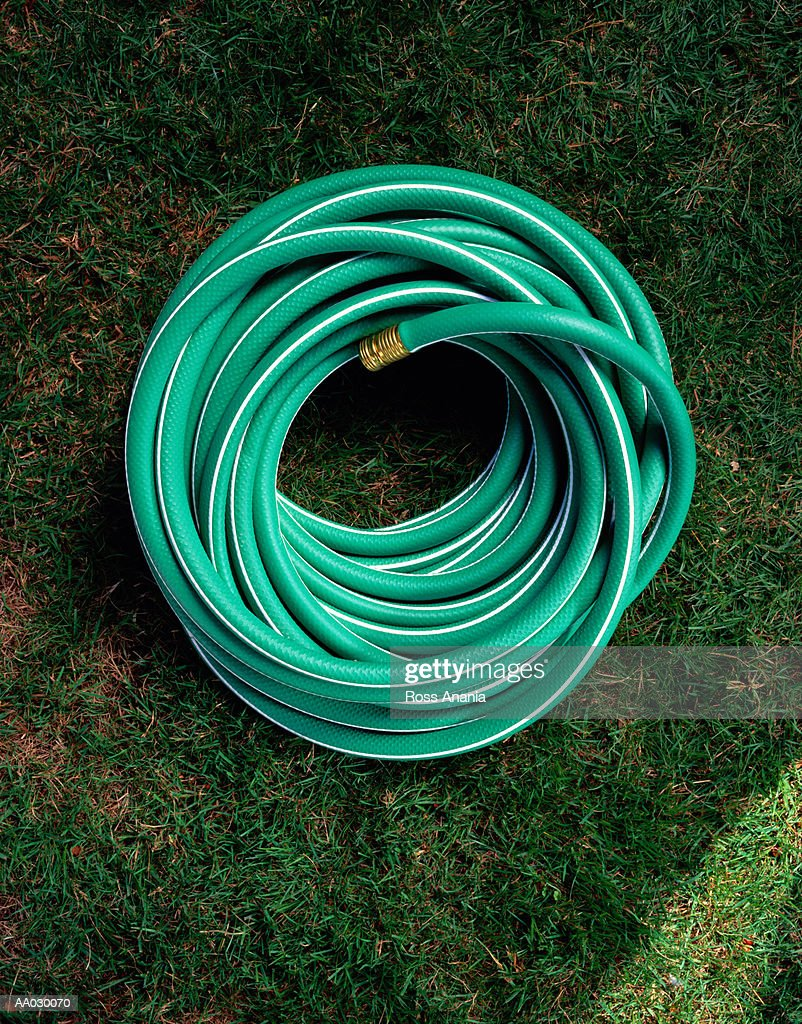 Overhead View of a Hose