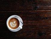 Art of producing latte