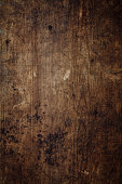 Overhead view of a worn wooden background