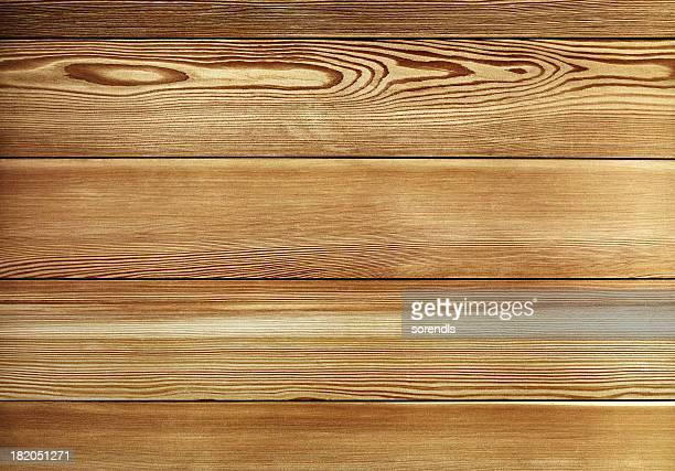 Vue aérienne de la vieille table en bois marron foncé