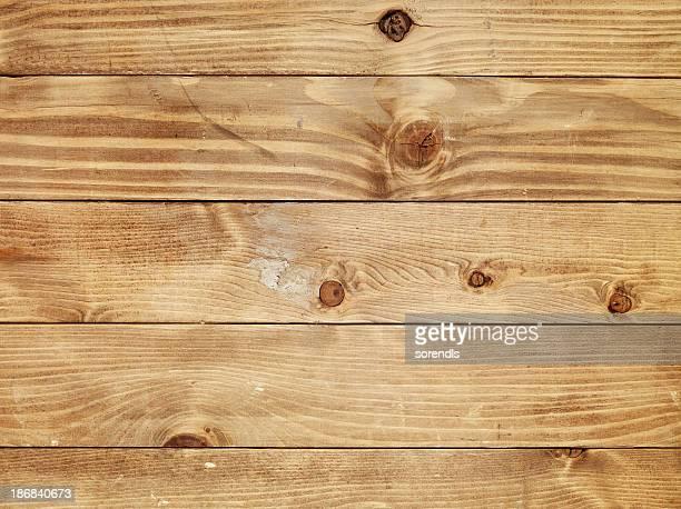 Vista dall'alto di tavolo in legno vecchio marrone chiaro
