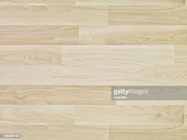 オーバヘッドの木製フロアー