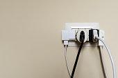 situazione di pericolo con energia elettrica