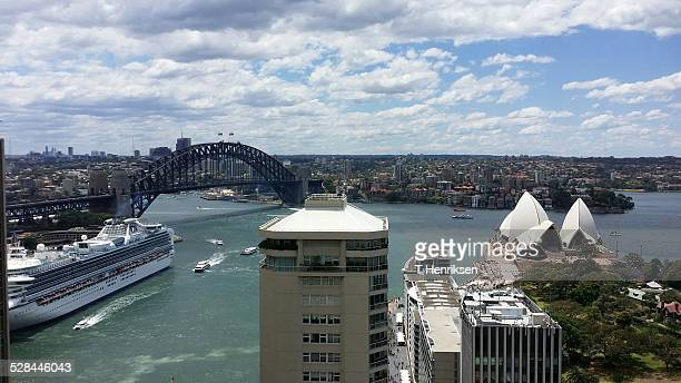 Overlooking the Circular Quay area in Sydney Taken from the Intercontinental in Sydney CDB