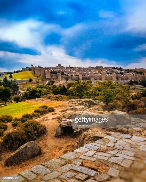 Overlooking the City of Avila