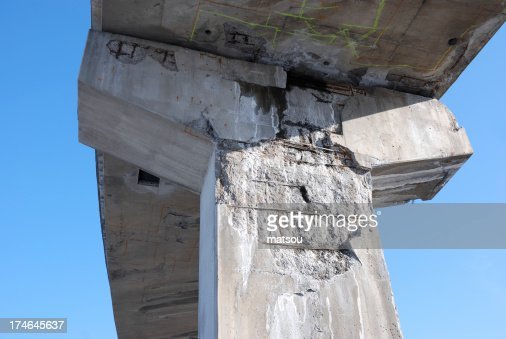 Overpass in bad condition