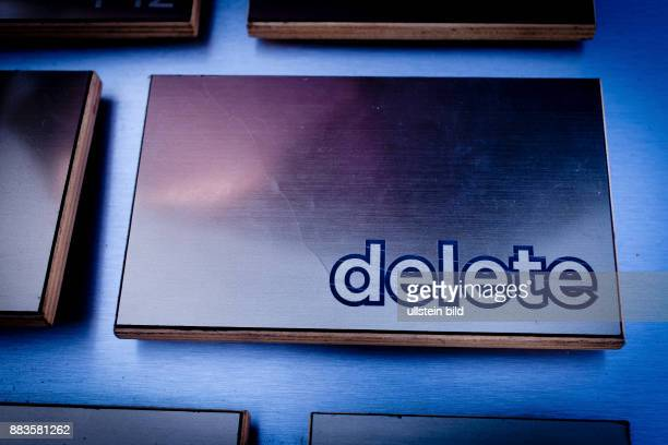 Oversized deletekey on a huge keyboard