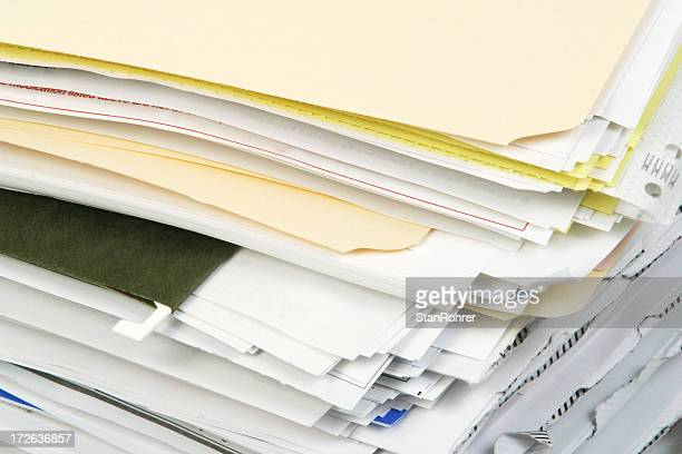 Overstuffed File Folders