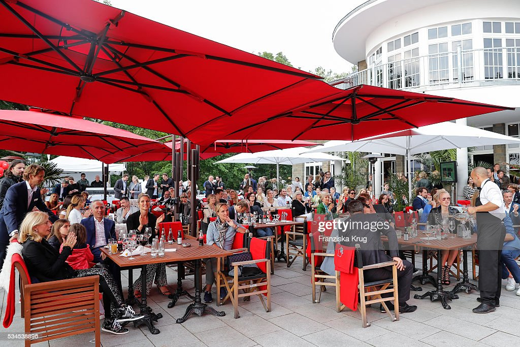 Overview at the 'Ein Herz fuer Kinder' summer party at Wannseeterrassen on May 26, 2016 in Berlin, Germany.