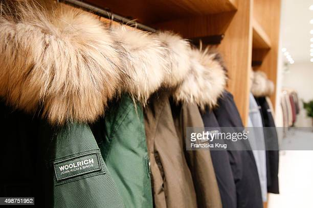Overview at the Woolrich Store Opening on November 25 2015 in Berlin Germany