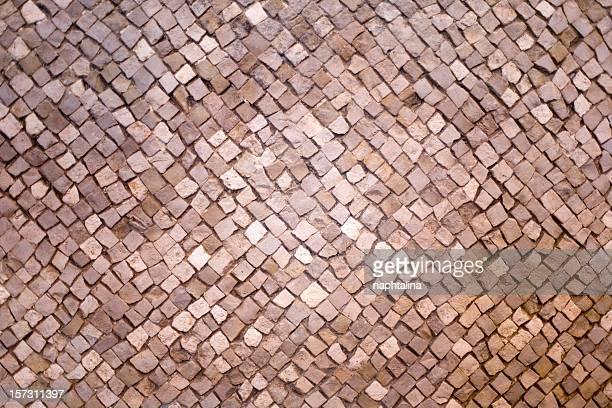 Overview mosaic arrangement of tiles