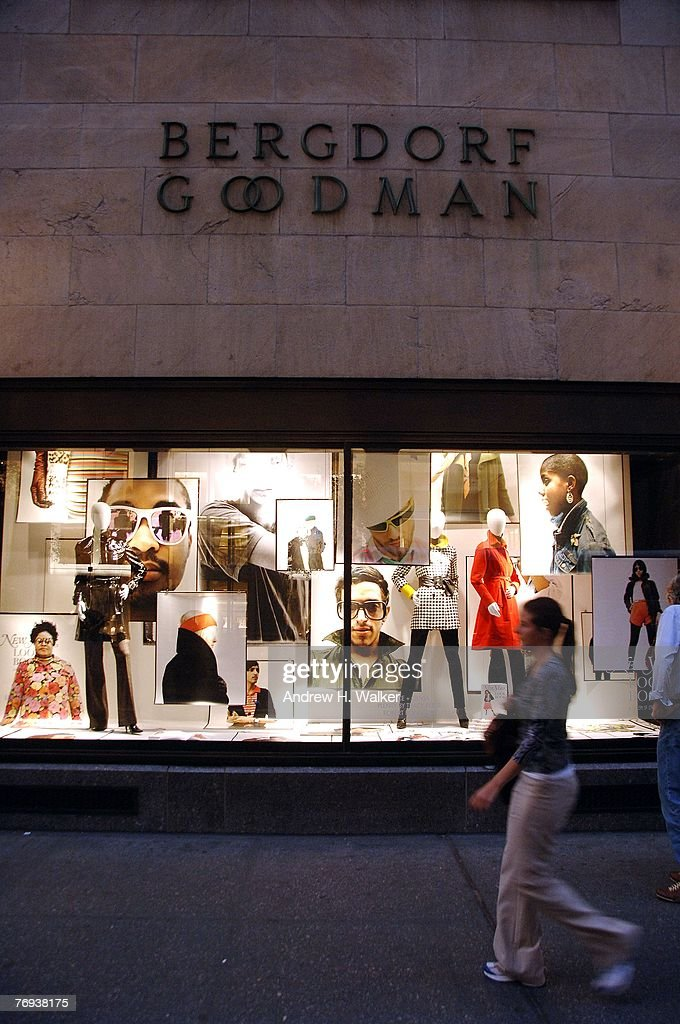 Overview of Bergdorf Goodman's window displays during a celebration for New York Magazine's 'Look Book' on September 20 2007 in New York City