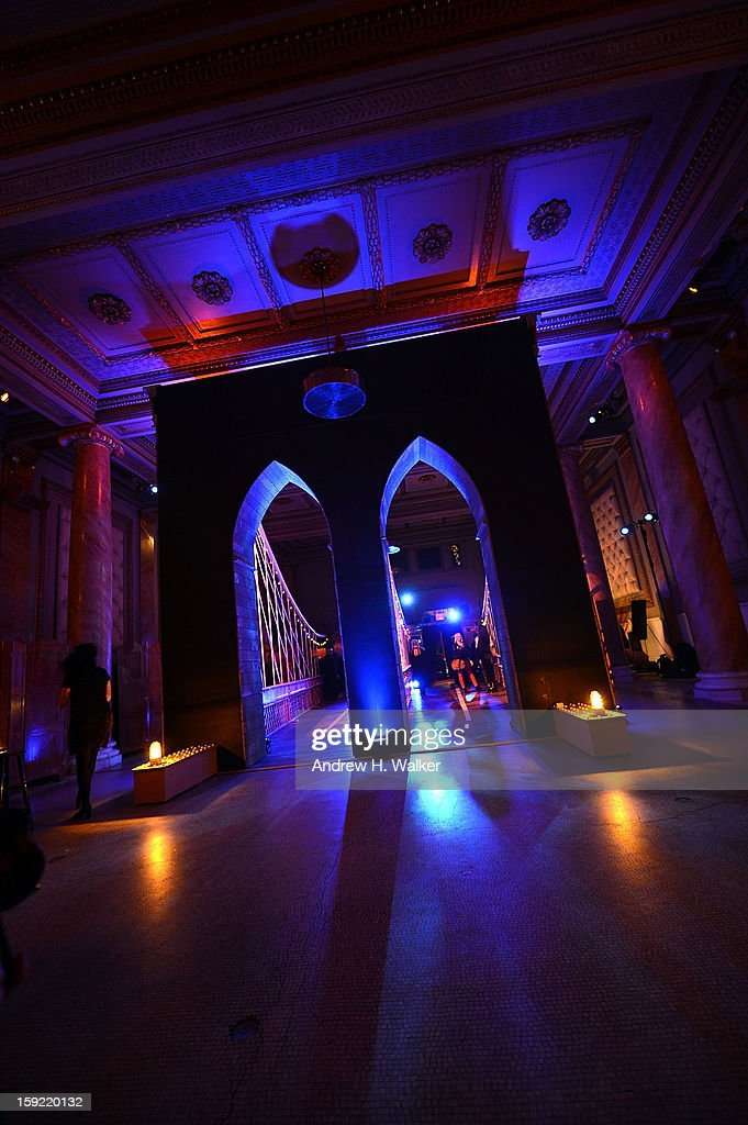 Overview of interior atmosphere during the 'Girls' Season 2 After Party hosted by HBO at Capitale on January 9, 2013 in New York City.