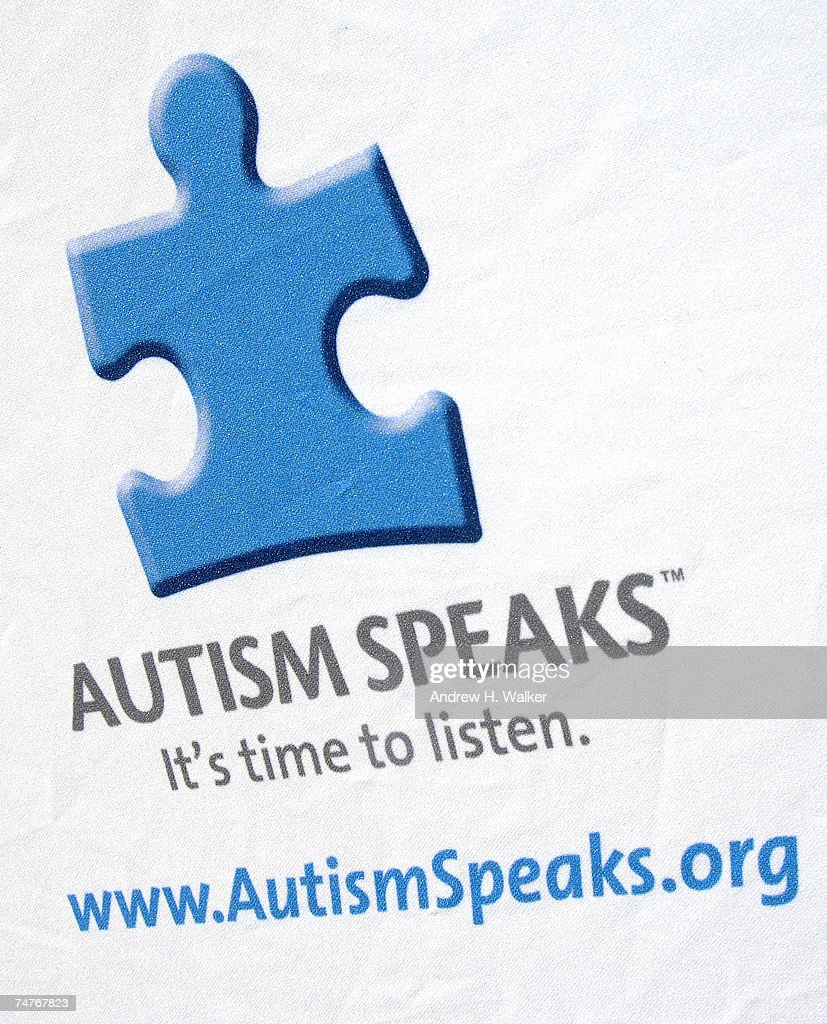 Overview of the Autism Speaks logo during their Ninth Annual NY Celebrity Golf Challenge on June 18 2007 in Mamaroneck New York