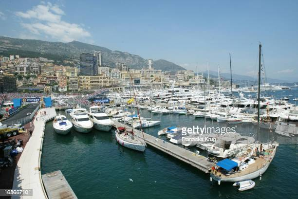 Overview Of The Circuit At The Grand Prix of Monaco in Monte Carlo on 310503