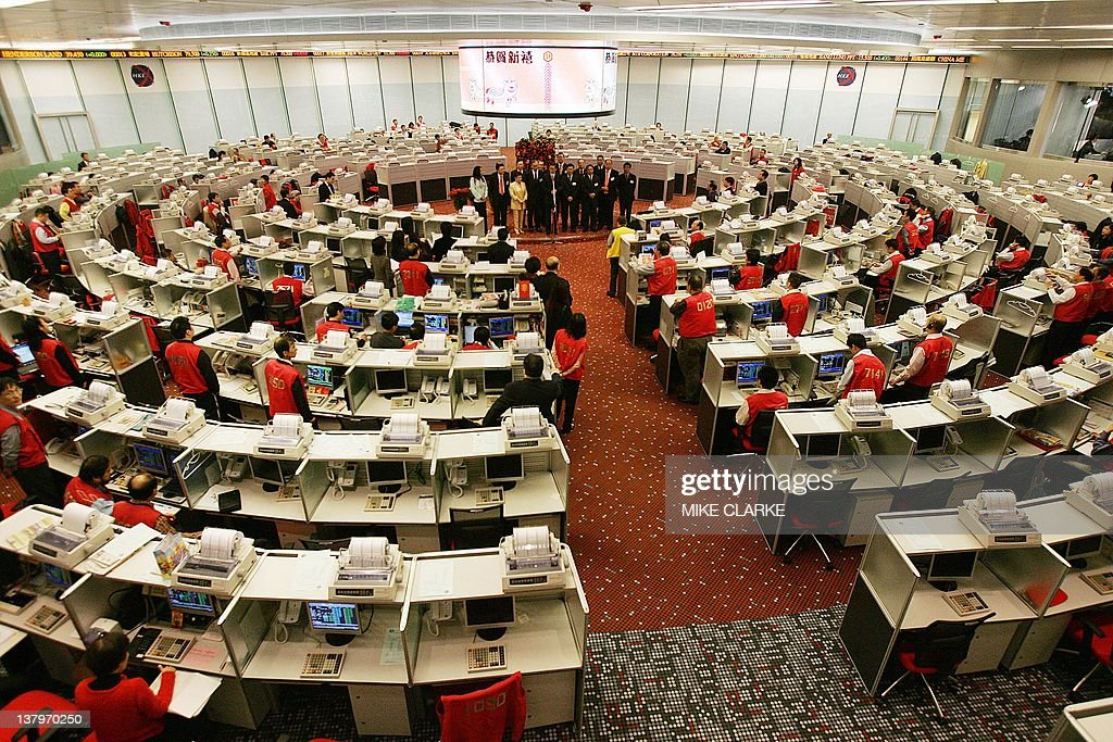 Overview of the newly renovated Stock Exchange of Hong Kong 01 February 2006 In a Chinese New Year tradition the Chief Executive of the exchange Paul...