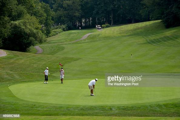 Overview of the Reston National Golf Course in Reston VA on Friday August 24th 2012 As seen from Sunrise Valley Drive
