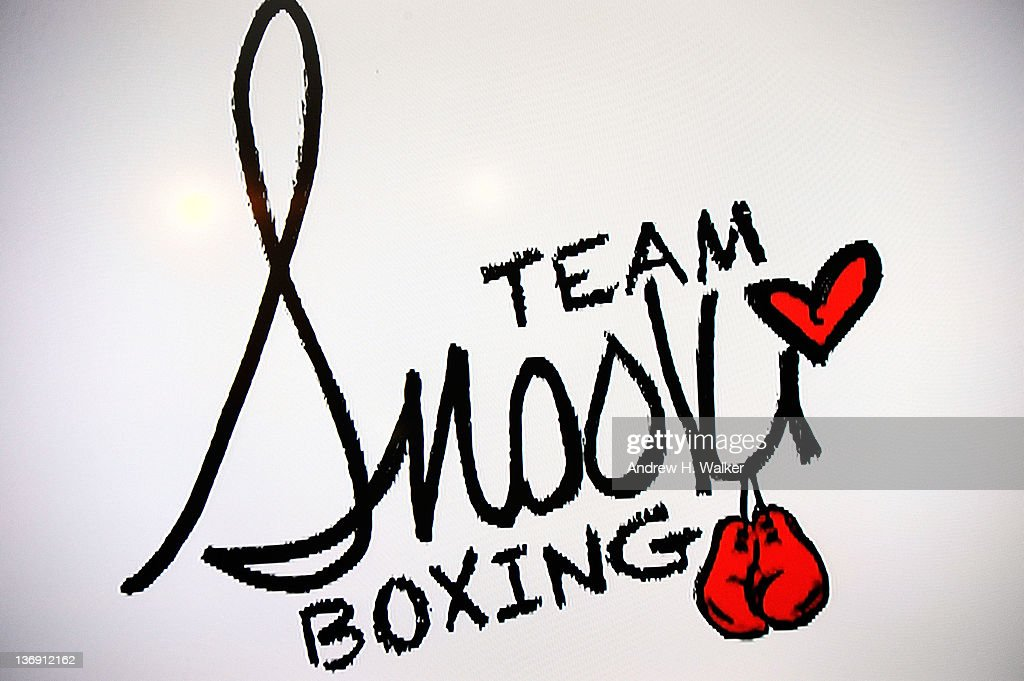 Overview of the Team Snooki Boxing poster at the Team Snooki Boxing press conference at McFadden's Saloon on January 12, 2012 in New York City.
