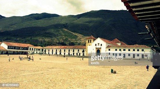 Overview of Villa de Leyva : Stock Photo