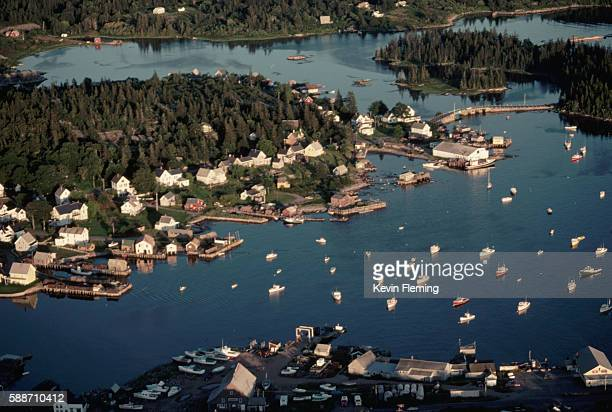Overview of Vinalhaven and Harbor
