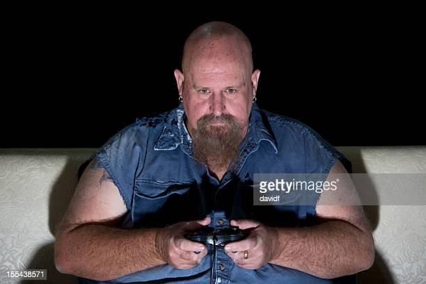 Overweight Computer Gamer