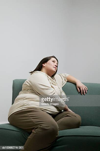 Overweight Couch Stock Photos And Pictures Getty Images