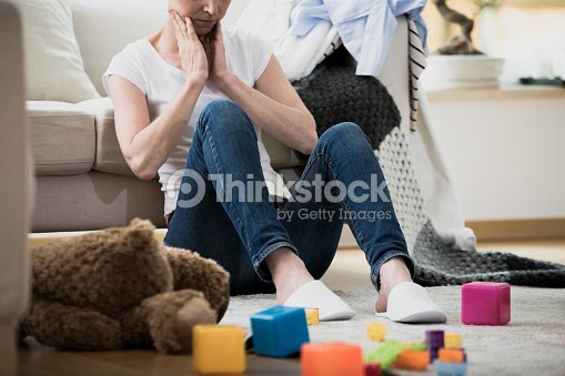 Overwhelmed exhausted tired of cleaning : Stock Photo