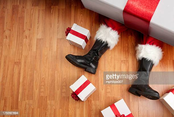 Overwhelmed Santa