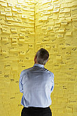 Overwhelming Amount of Post-it Notes