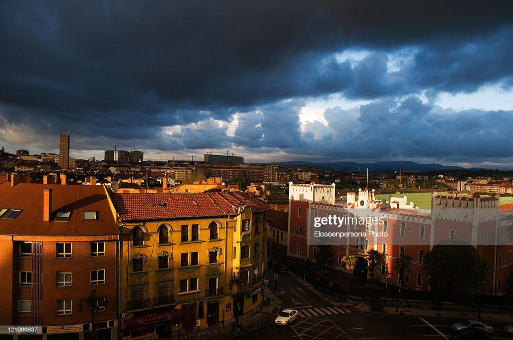 Oviedo north skyline