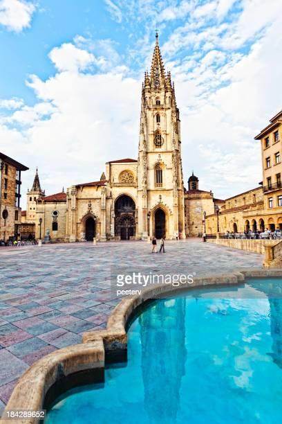 Oviedo antiga cidade.