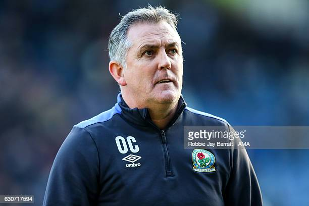 Owen Coyle head coach / manager of Blackburn Rovers during the Sky Bet Championship match between Huddersfield Town and Blackburn Rovers at Galpharm...
