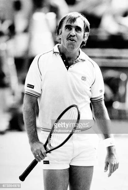 Owen Davidson of Australia coach to Annabel Croft of Great Britain circa 1985