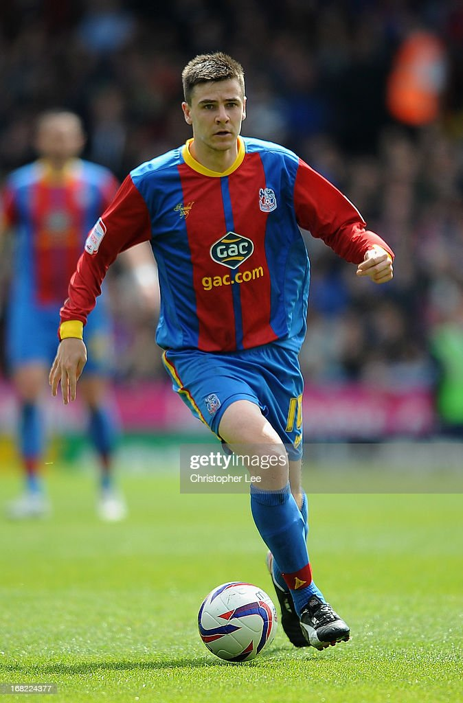 Owen Garvan of Crystal Palace during the npower Championship match between Crystal Palace and Peterborough United at Selhurst Park on May 04, 2013 in London, England.