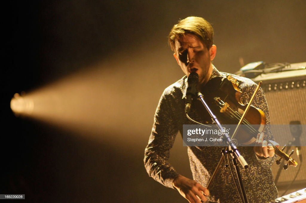 Owen Pallett performs in concert at The Brown Theatre on April 1, 2013 in Louisville, Kentucky.