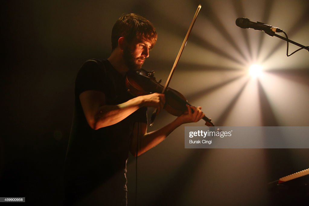 Owen Pallett performs on stage at Queen Elizabeth Hall on December 3 2014 in London United Kingdom