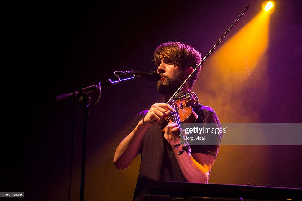 Owen Pallett performs on stage at Sala Apolo on December 13 2014 in Barcelona Spain
